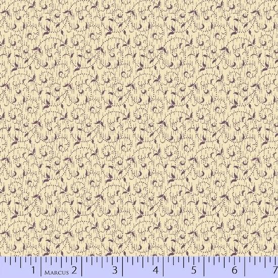 R17 Antique Cotton Calicos: Old Plum Calicos 5237 0174