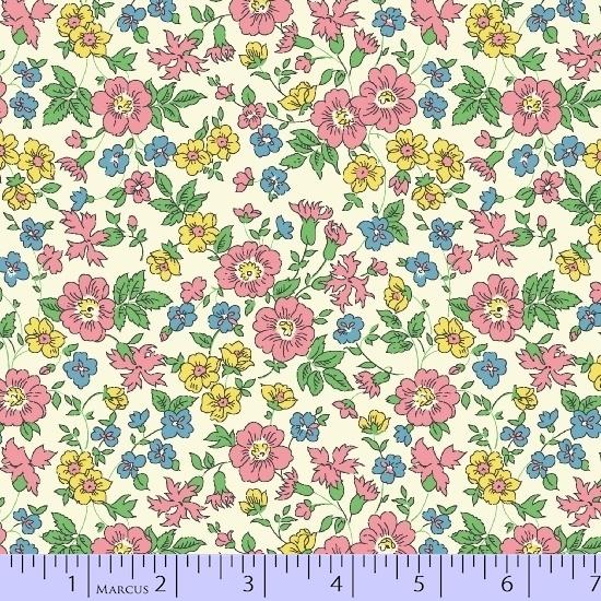 Quilt Back 108 in. floral pink