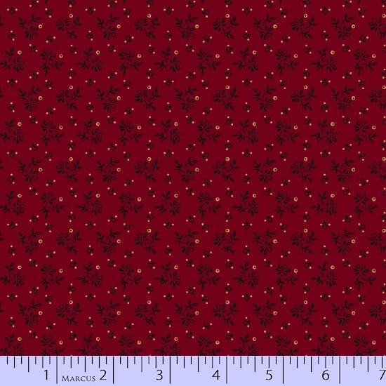 Prairie Basics - Red Tiny Flower
