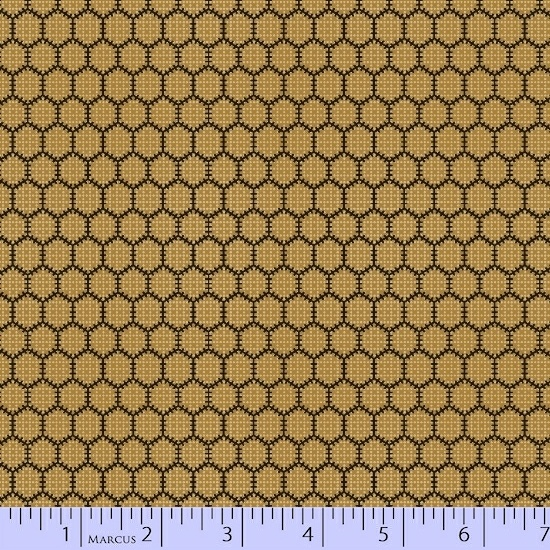 Bristle Creek Farmhouse BOM - Honey Comb - by Paula Barnes/ Red Crinoline Quilts