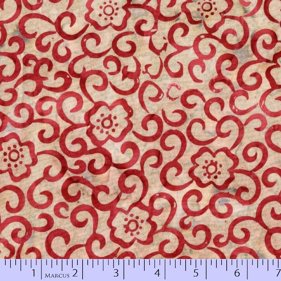 R06 Primo Batiks: Red Sky