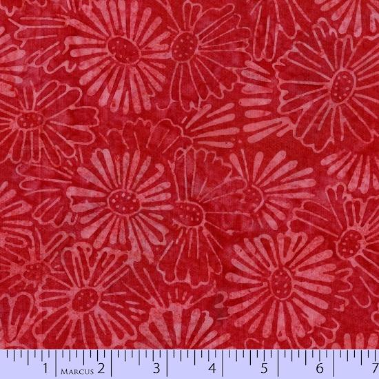 Marcus Fabrics R06-8106-0111 Primo Batiks: Red Sky