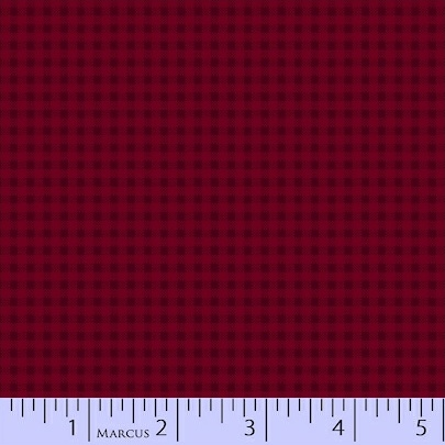 Pieceful Pines - red flannel
