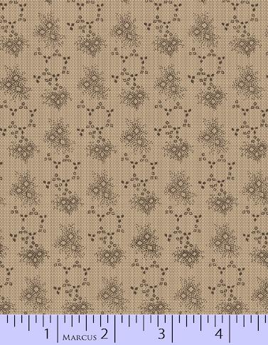 Fabric - BH Grey Little Diamonds