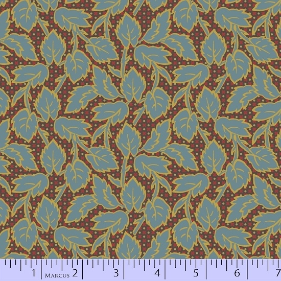 Fabric - BH Pink Wanderin Vines Reproduction fabric