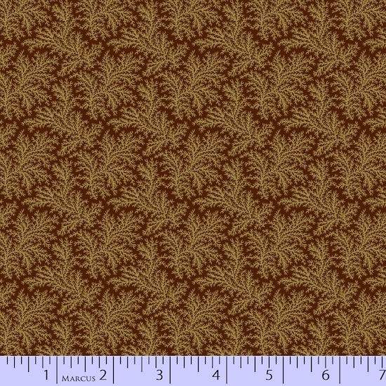 Fabric - BH Green Feathery Ferns