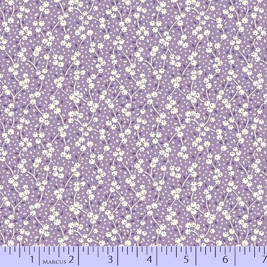 Aunt Grace's Flower Pots R35 8450-0535 Purple Vining Leaves