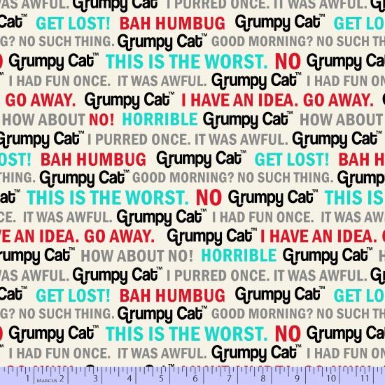Grumpy Cat Flannel R10