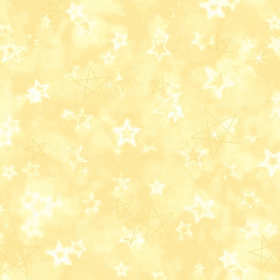 Songbook Flannel Little Star Yellow