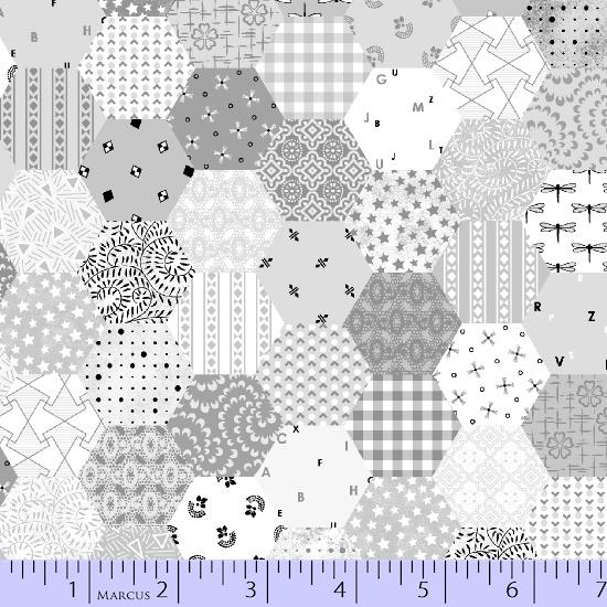 * Fade In, Gray Hexagons
