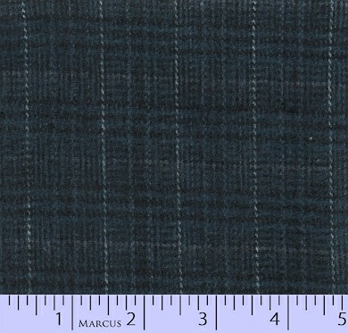 R09 Primo Plaid Flannel: Blues