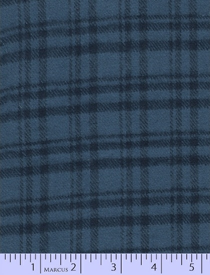 Primo Plaid Flannel: Blues