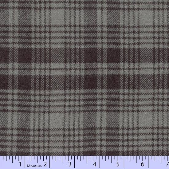 Primo Plaid Flannel - Smokey - R09-J345-0144