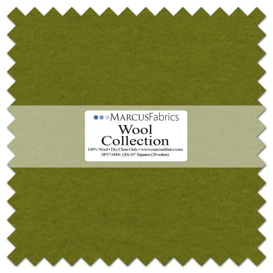 Wool Precut (20) 10 inch squares