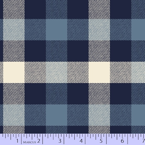 Marcus  Primo Plaid Flannels: New Blues