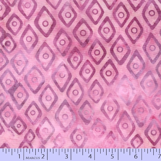 Marcus Sew Sweet Batiks  (Pink Diamonds)