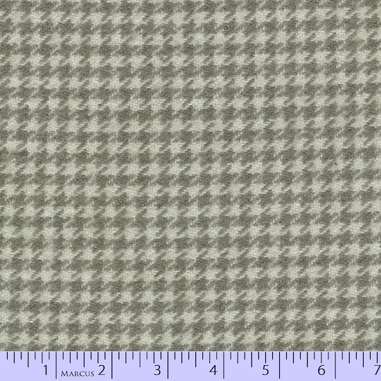 Primo Plaid Flannel - Concrete Houndstooth Tan