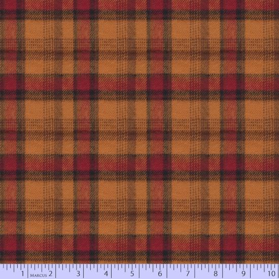 R09-U084-0132 Flannel Plaids: Maple Lake