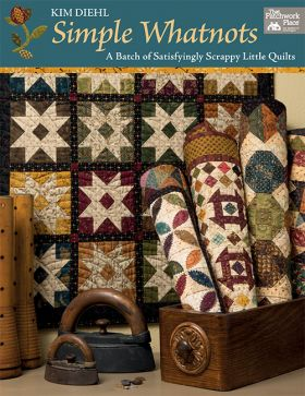 B1458 Simple Whatnots - A Batch of Satisfyingly Scrappy Little Quilts