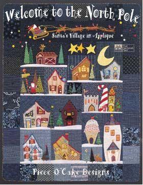 Welcome to the North Pole - Santa's Village in Applique