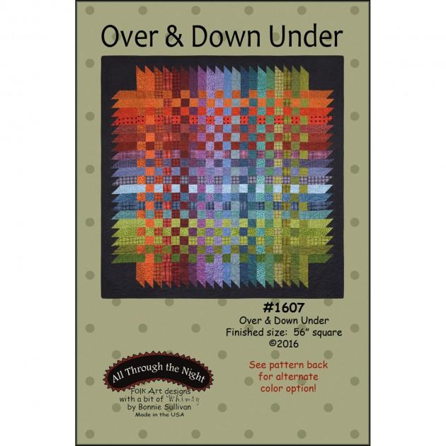 Bonnie Sullivan All through the Night Over & Down Under FolK Art design Pattern