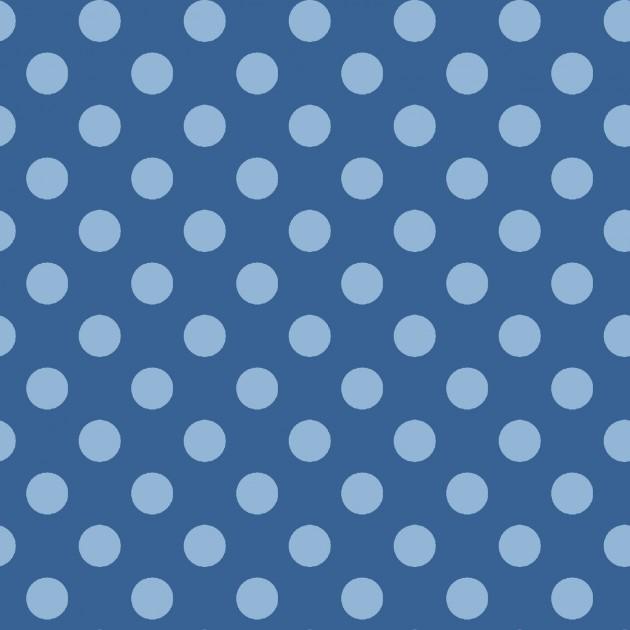 KimberBell Basics Blue Tonal Dots