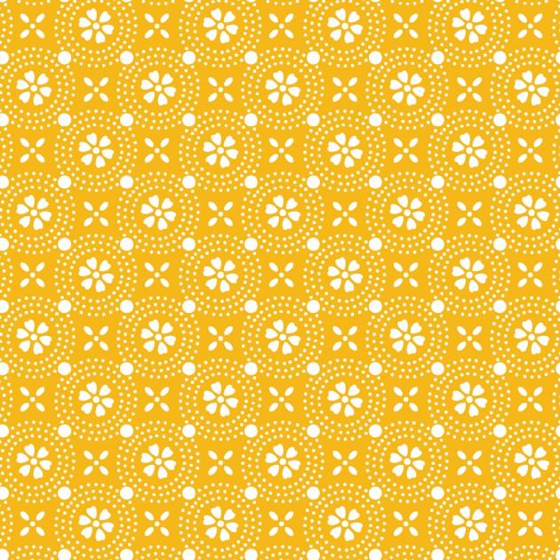Kimberbell Basics Dotted Circles Yellow