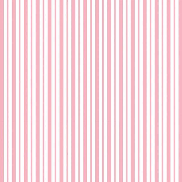 Pink Mini Awning Stripe