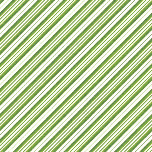 All the Trimmings Candy Cane Stripe Green