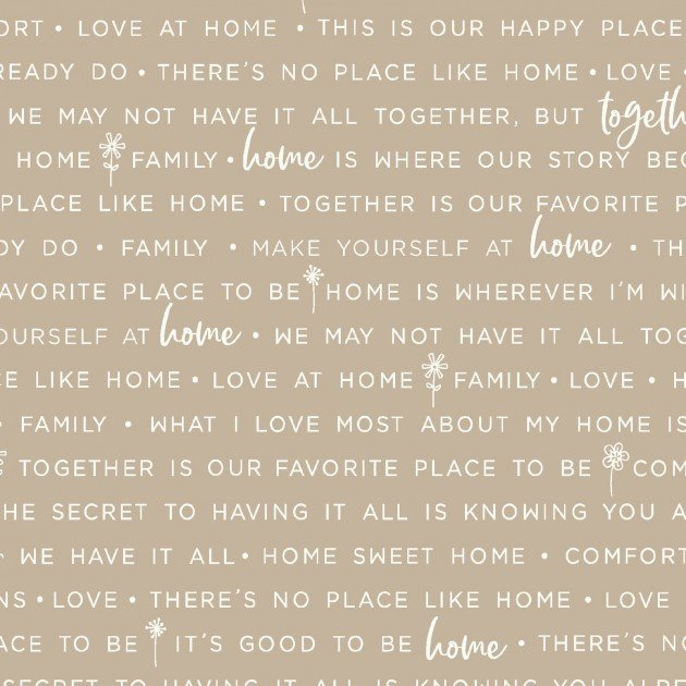 Home Phrases Make Yourself at Home by Kimberbell