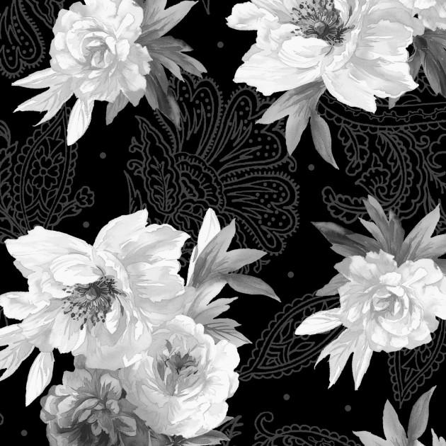 Flowers on Paisley