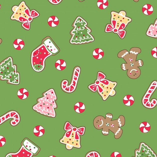 Christmas Cookies -  Green