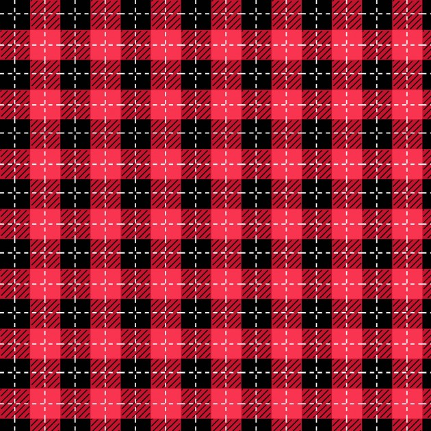 We Whisk You a Merry Christmas!- Buffalo Plaid Red