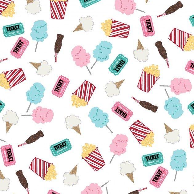 Boardwalk - Fun Snacks on White