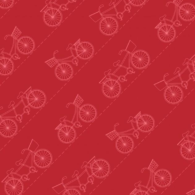Boardwalk - Diagonal Bikes on Red