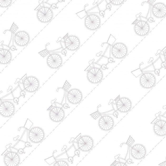 Boardwalk - Diagonal Bikes on White