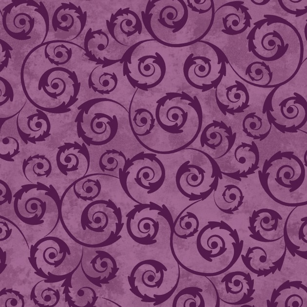AMOUR SCROLL VIOLET