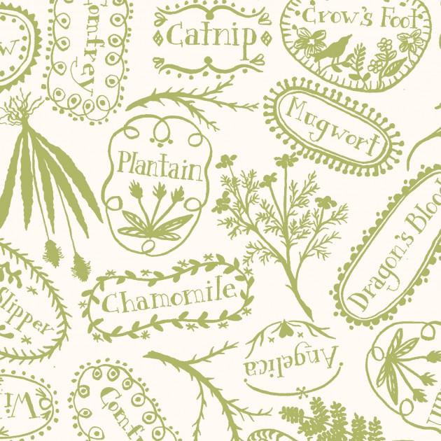 MAS9814-G Spellcaster's Garden Crabapple Hill Olive Neutral