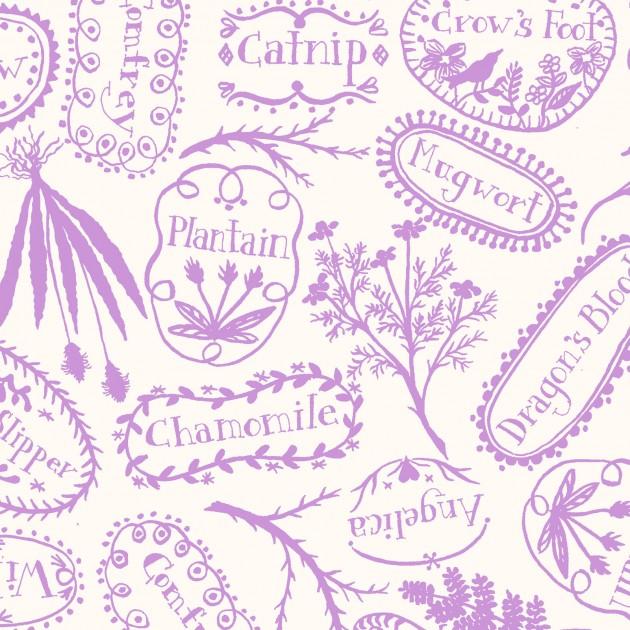 Spellcaster's Garden Violet Plant Markers 9814-V