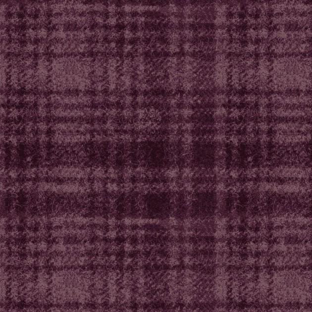 Woolies Flannel - Windowpane - Violet