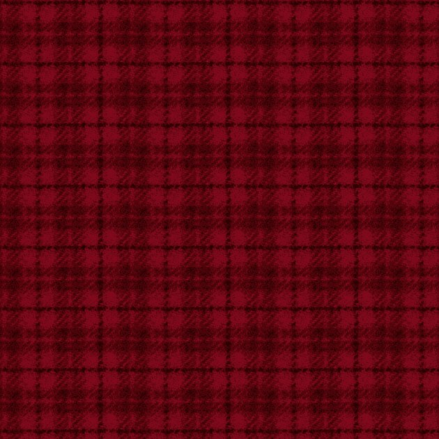 Woolies Flannel - Red Plaid