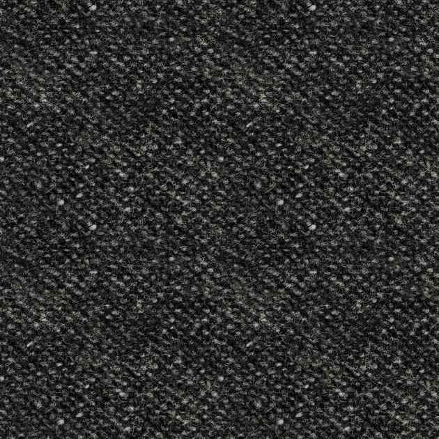 Woolies Flannel black nubby tweed