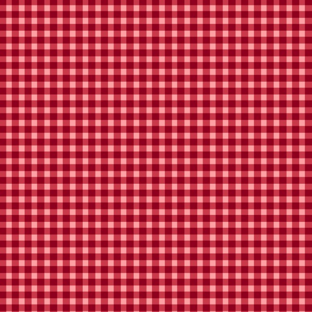 Kimberbell Houndstooth Fabric: Red
