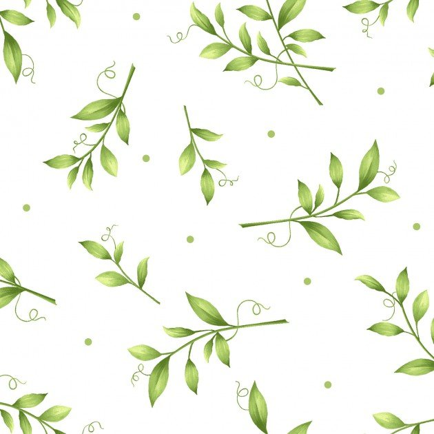 Maywood White Sweet Pea Flannel