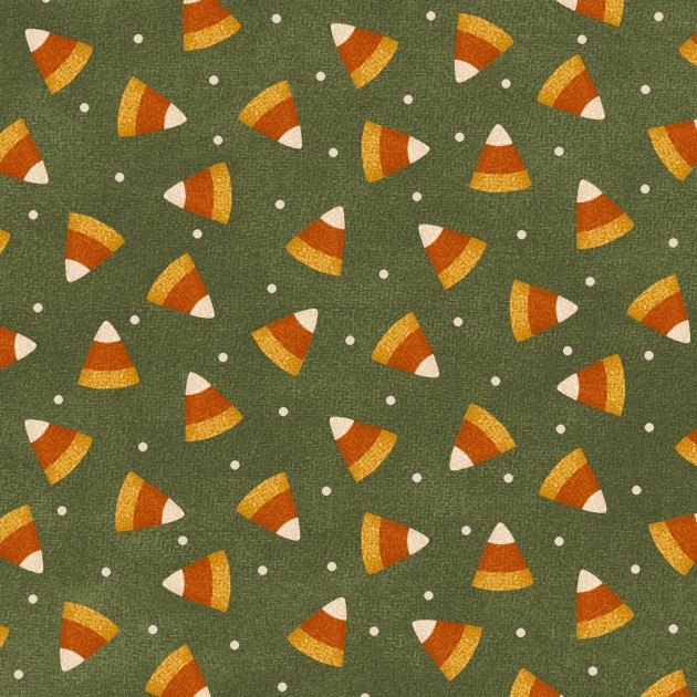 FLANNEL - Candy Corn MASF9402-G