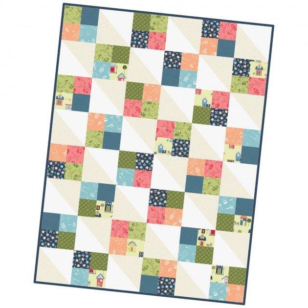 Four Square Quilt Pod