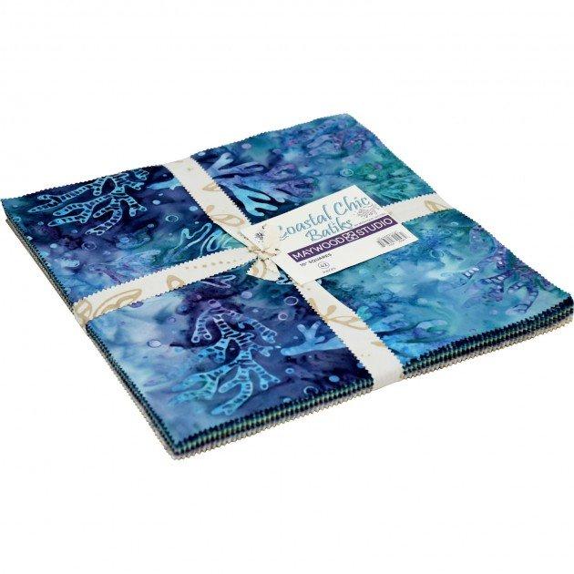 Costal Chic Batiks 10 Squares (42pcs)