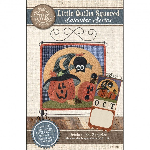 Little Quilts Squared - October