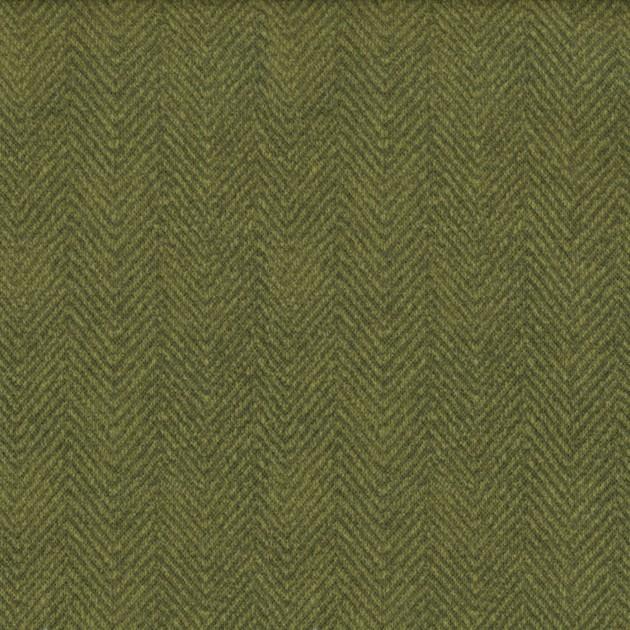 Maywood Woolies Flannel  Moss Green MASF1841-G