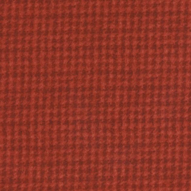 Woolies Flannel - Houndstooth - Orange